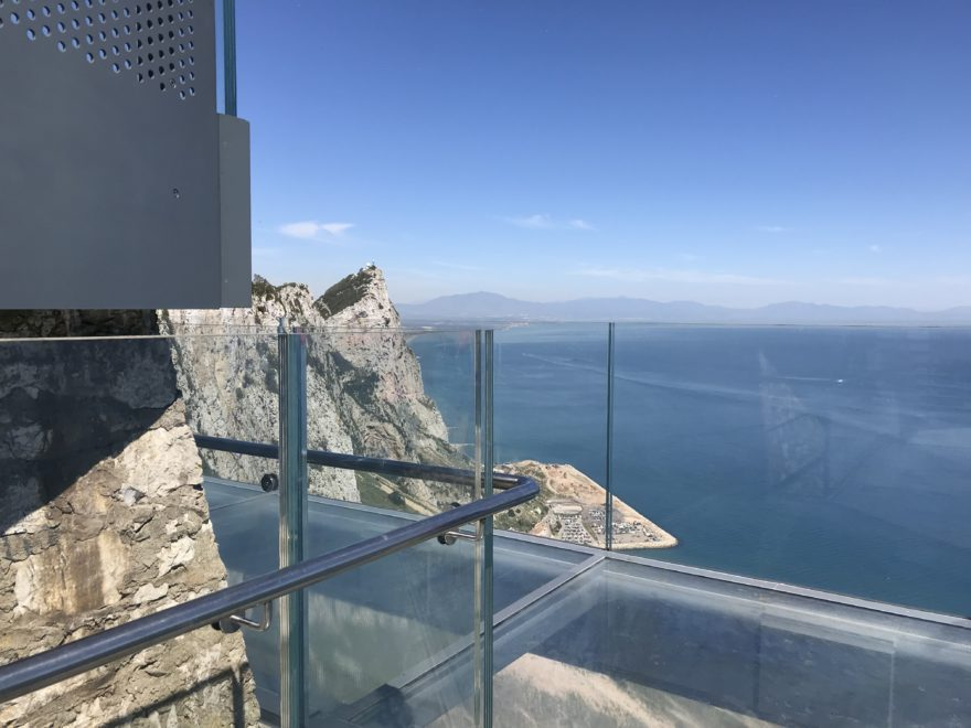 Skywalk,glass balcony,stunning views